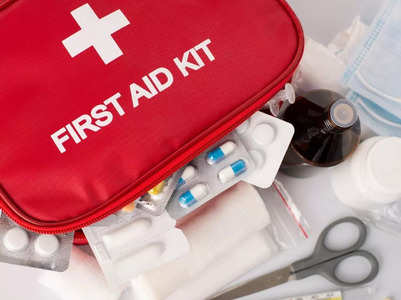 First aid measures for common injuries