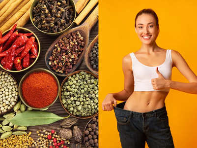 7 common kitchen spices for weight loss