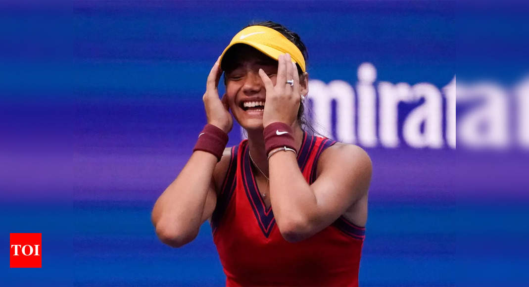 Emma Raducanu rockets up 127 ranking places after shock US Open win   Tennis News – Times of India