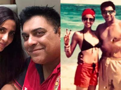 Gautami's honeymoon photo with Ram Kapoor