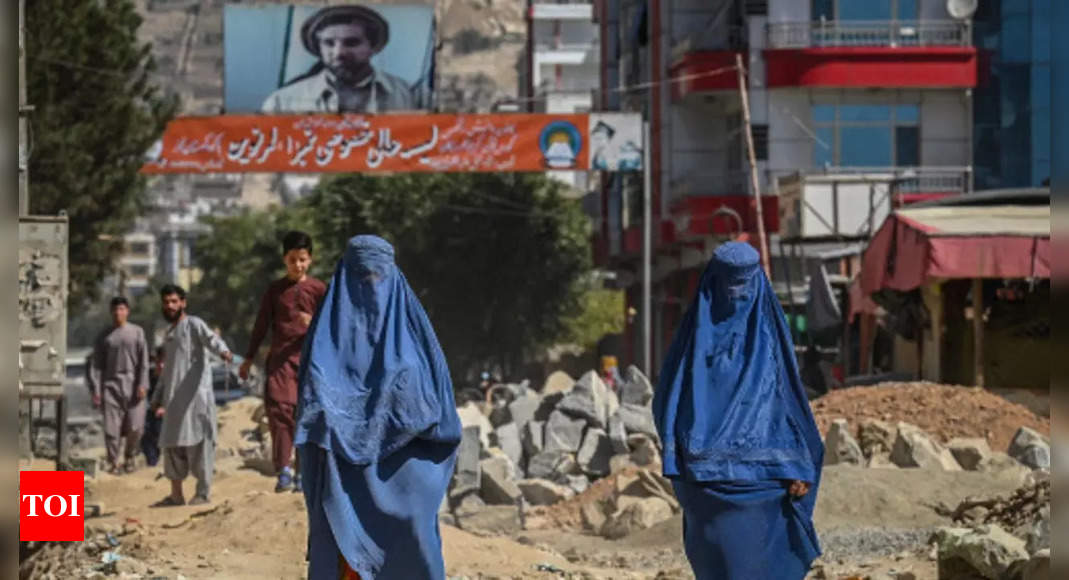 taliban: Many prominent Afghan female leaders have fled or are now hiding – Times of India