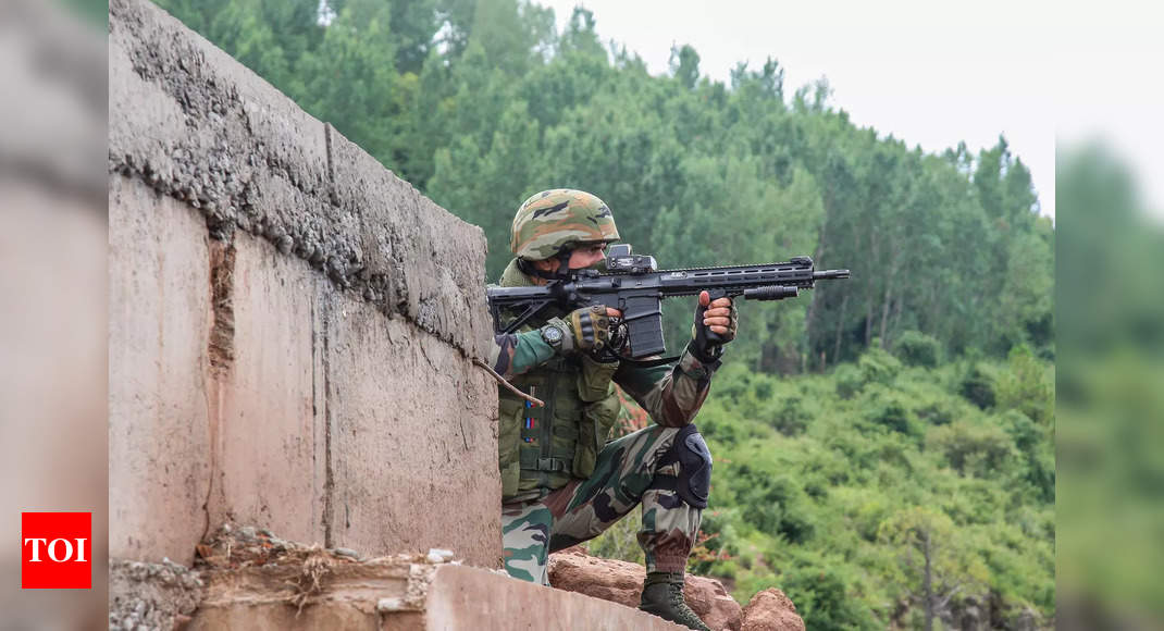Days after encounter, security forces recover AK-47, live rounds from Rajouri site
