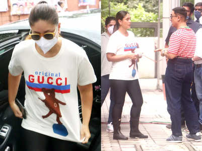 Netizens feel Kareena's T-shirt is not even worth INR 500