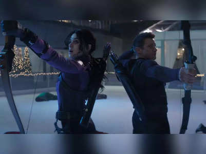 'Hawkeye' trailer promises action-packed Christmas