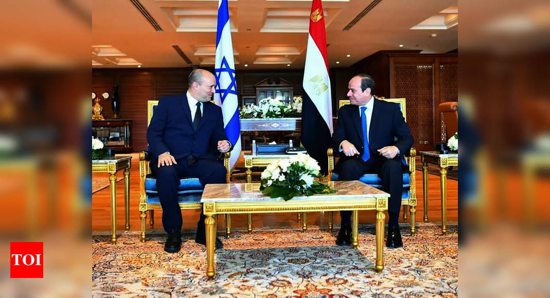 egypt: Israel PM in first official trip to Egypt in over a decade – Times of India