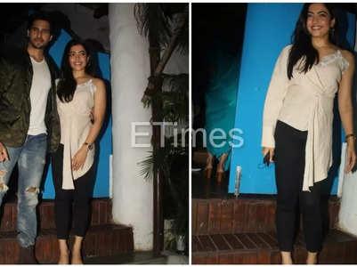Sid, Rashmika attend Mission Majnu's party