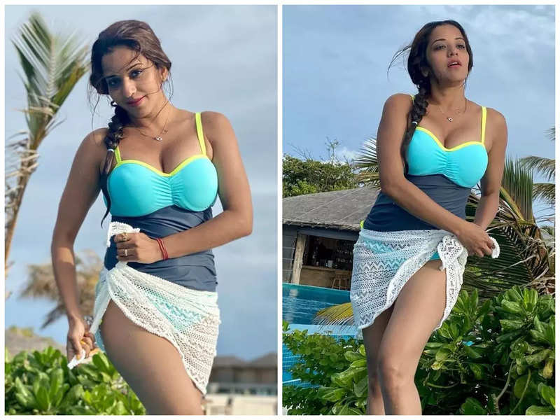 Monalisa's throwback photos in monokini will take away all your blues; see pics