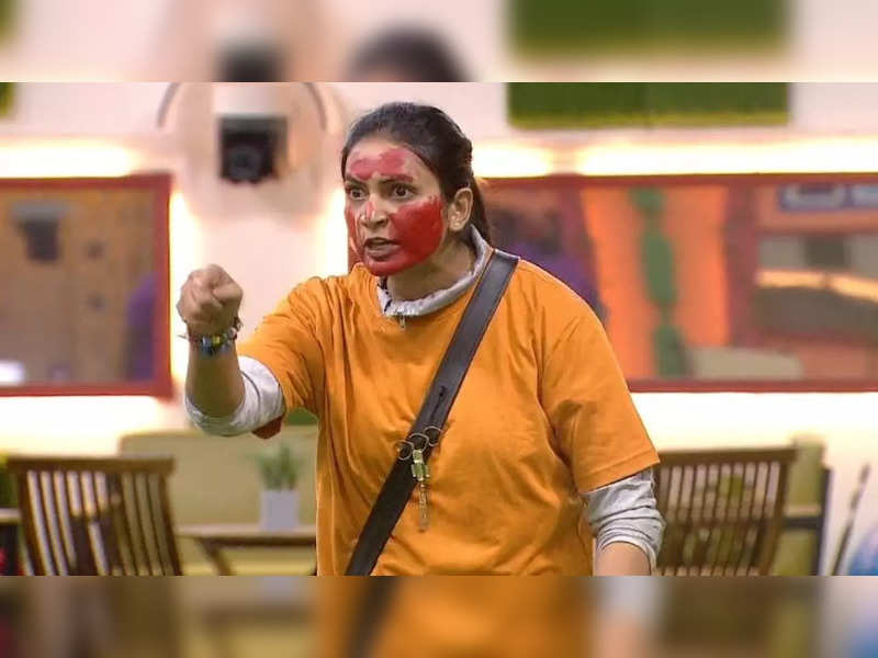 Bigg Boss Telugu 5: Sweta Varma gets trolled for slapping Hamida with color after an emotional speech on 'humanity and respect' - Times of India