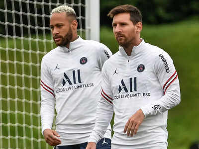 Lionel Messi, Neymar back in PSG squad for Champions League opener |  Football News - Times of India