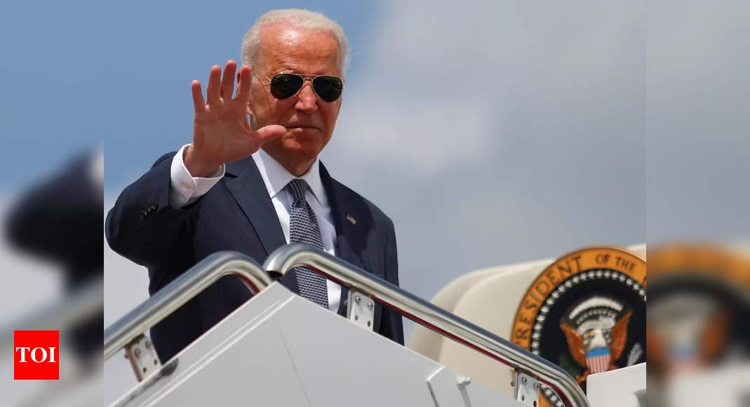 newsom:  Biden makes push for California's Newsom as recall nears end – Times of India