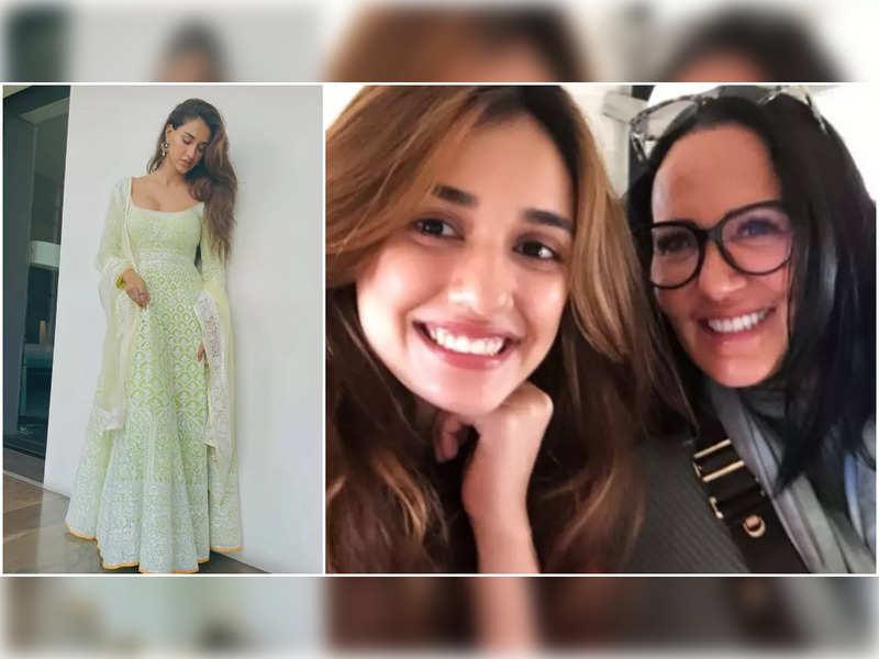 Tiger Shroff's mom Ayesha is all hearts for Disha Patani's traditional look