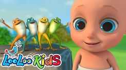 Watch Popular Kids English Nursery Song 'The Little Green Frog' for Kids - Check Out Fun Kids Nursery Rhymes And Baby Songs In English