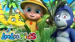 Watch Popular Kids English Nursery Song 'Down In The Jungle' for Kids - Check Out Fun Kids Nursery Rhymes And Baby Songs In English