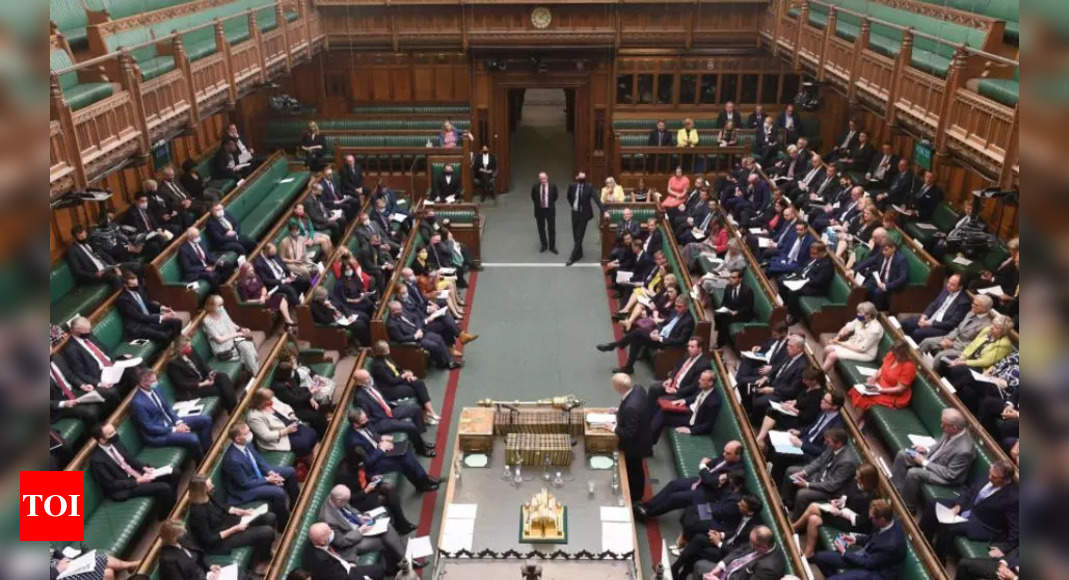 Chinese ambassador barred from UK parliament over sanctions row
