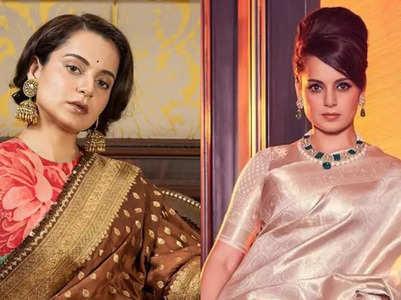 Kangana Ranaut's best sari looks ever