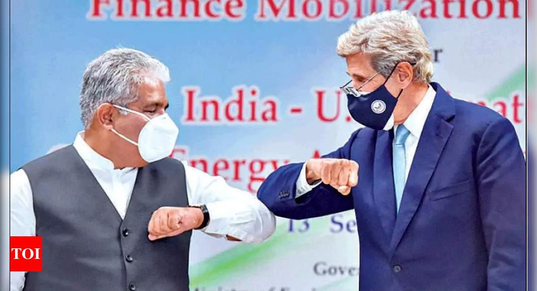 Kerry: No serious talks with India on 'net zero'