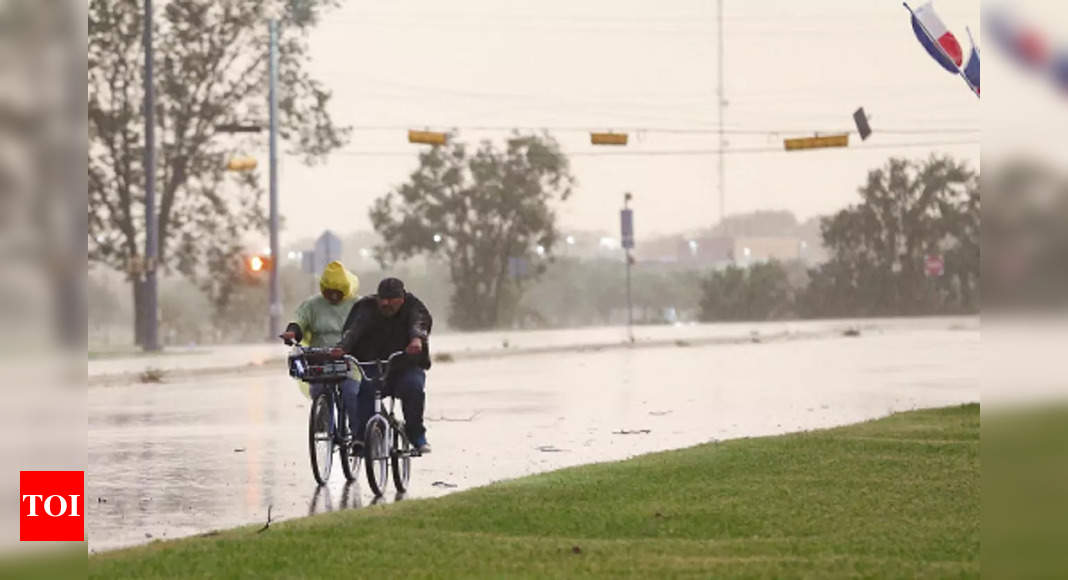 , Nicholas, now a tropical depression, still douses Gulf Coast, The World Live Breaking News Coverage & Updates IN ENGLISH