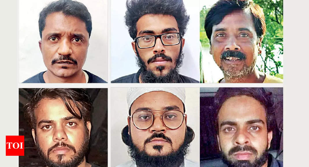 ISI-Dawood terror plot to target many cities foiled, six arrested   India News – Times of India
