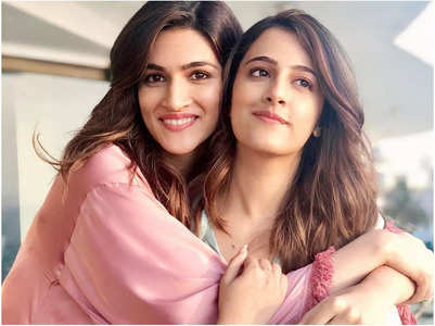 Kriti makes a revelation about sister Nupur