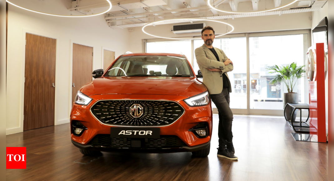 MG Astor SUV unveiled, bookings open on September 19 – Times of India