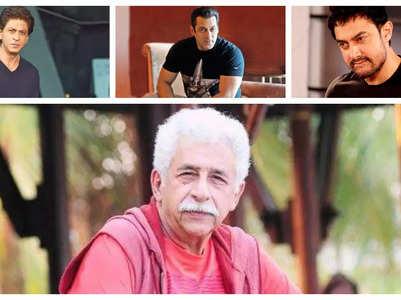 Naseeruddin: SRK, Aamir fear harassment