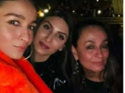 Alia misses Ranbir's sister Riddhima