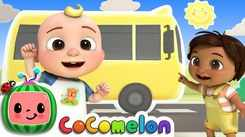 Nursery Rhymes in English: Children Video Song in English 'Wheels On The Bus Dance'