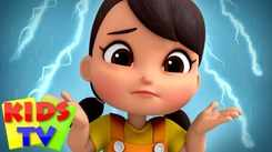 Nursery Rhymes in English: Children Video Song in English 'Rain Rain Go Away'