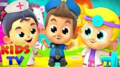Nursery Rhymes in English: Children Video Song in English 'Doctor Doctor'