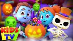 Nursery Rhymes in English: Children Video Song in English 'Be Very Scared - Halloween'