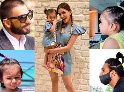 Smriti's baby, Ranveer's similar hairstlyles