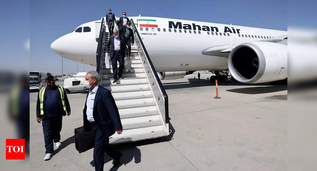 Iran resumes commercial flights to Afghanistan – Times of India