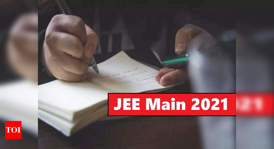 Seven candidates from Telangana secure 100 percentile in JEE Main 2021 – Times of India