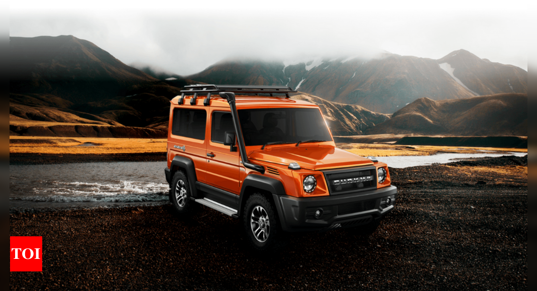 Force Gurkha BS6 Launch Date: Force Gurkha BS6 introduced, set to challenge Mahindra Thar | – Times of India