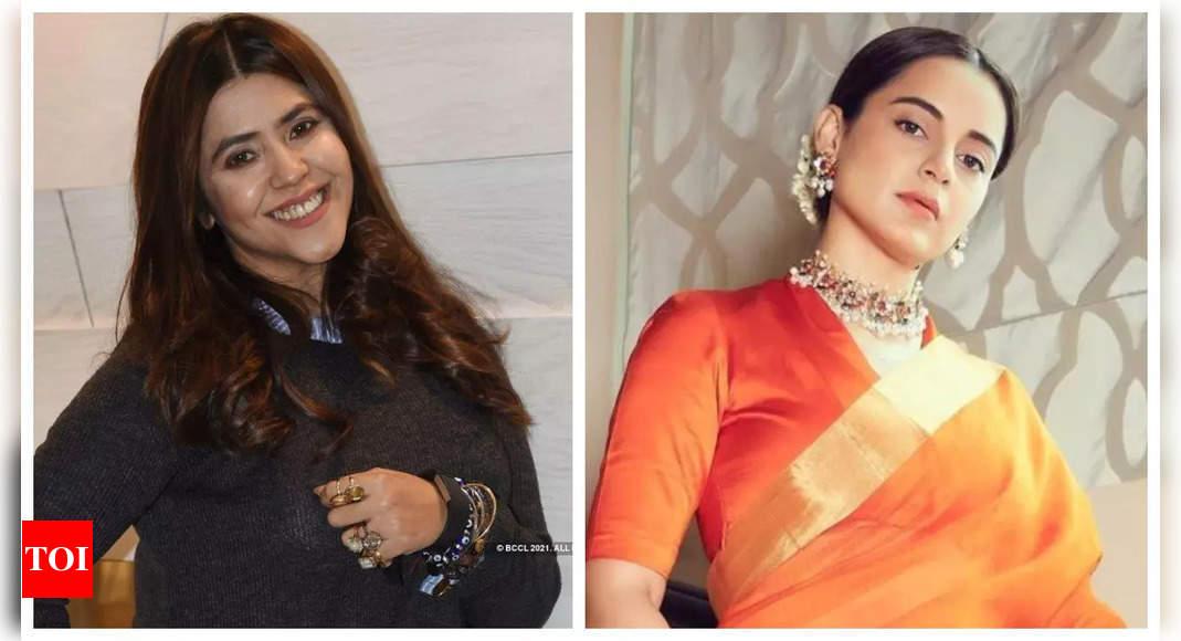Ekta Kapoor shower praise on Kangana Ranaut