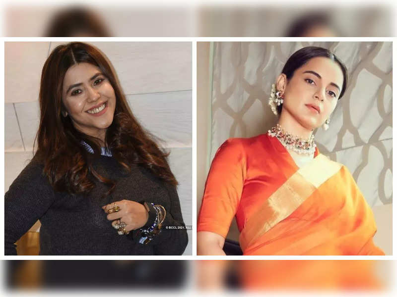 Ekta Kapoor says she is 'overwhelmed' after watching Kangana Ranaut's 'Thaliavii', calls the actress 'league of her own'