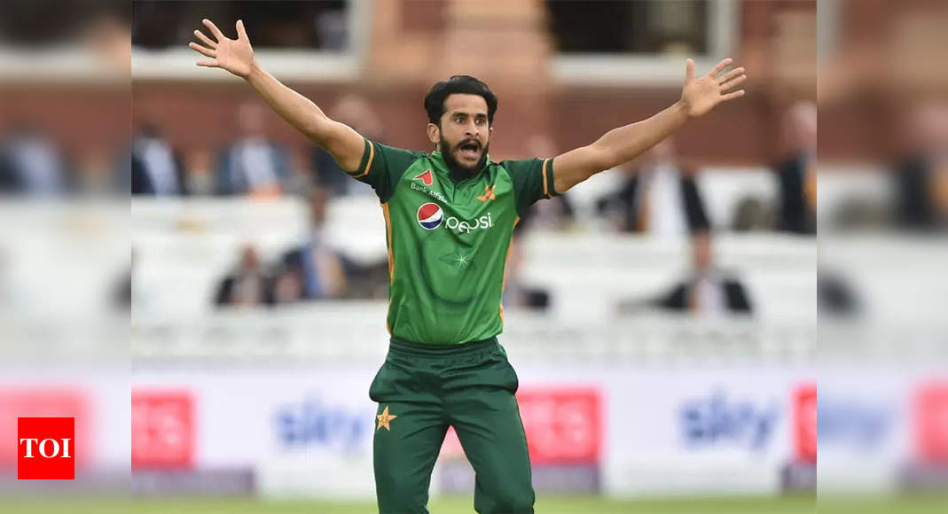 Will try and replicate 2017 Champions Trophy final: Pakistan all-rounder Hasan Ali on India game   Cricket News – Times of India