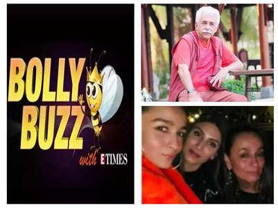 Bolly Buzz! Naseeruddin Shah on SRK, Aamir