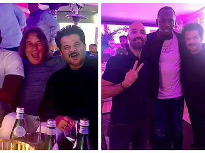 Pics: Anil Kapoor parties with Usain Bolt