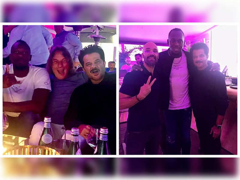 Anil Kapoor spends a 'legendary night' partying with Usain Bolt in Germany, see pics