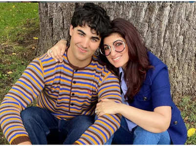 Twinkle's adorable post for son Aarav