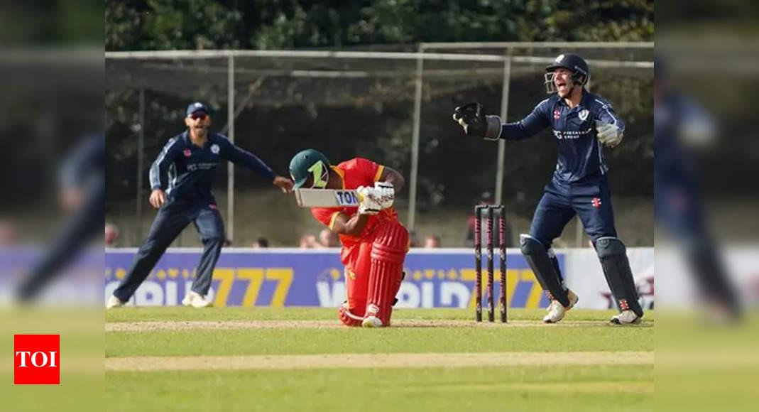 Scotland take Twenty20 series opener against Zimbabwe | Cricket News – Times of India
