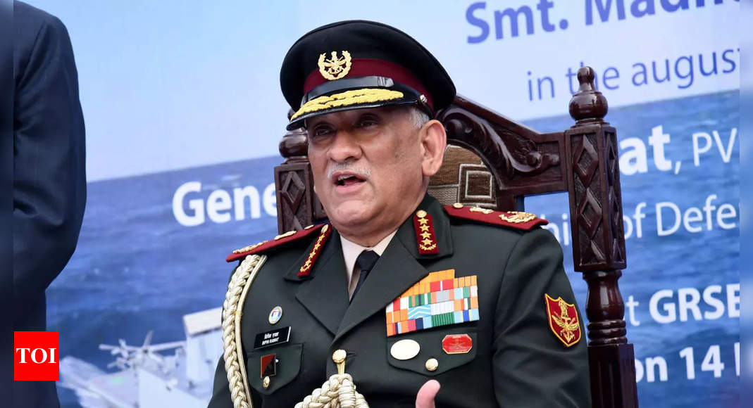 India looking at creating rocket force: CDS Gen Rawat