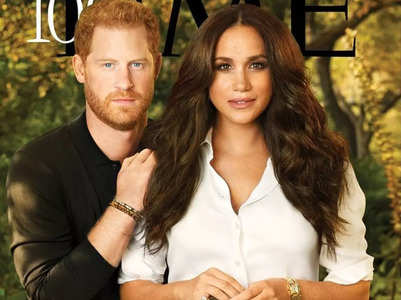 Harry and Meghan look stunning on mag cover