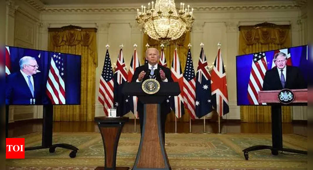 indo-pacific: Australia to get US nuclear submarine technology as China looms large – Times of India