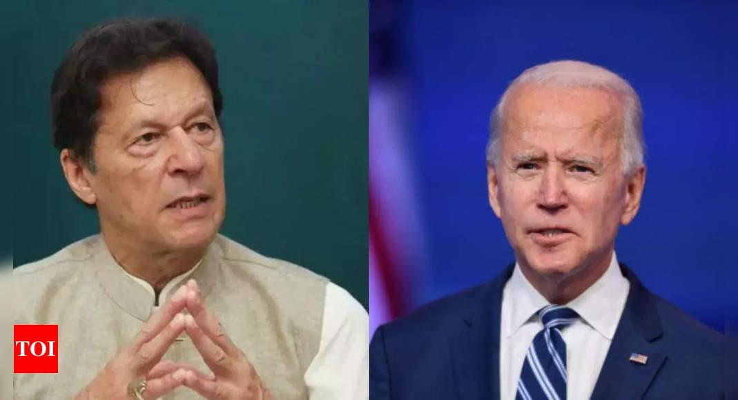 khan:  'He is a busy man': Imran Khan on no phone call from Joe Biden – Times of India