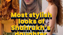 Most stylish looks of Shah Rukh's daughter Suhana Khan