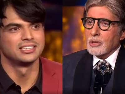 Watch Neeraj translate Big B's dialogue