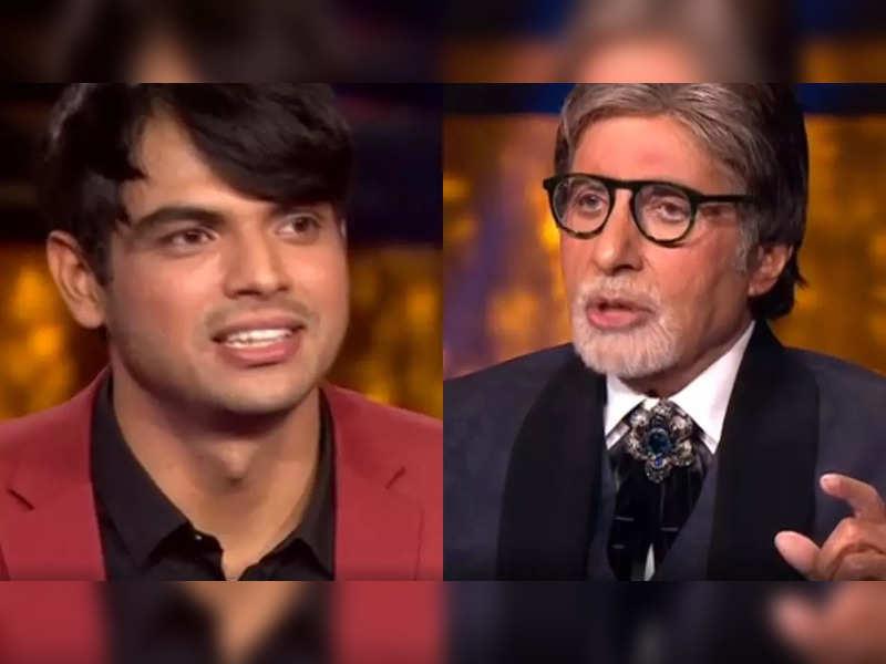 Kaun Banega Crorepati 13: Neeraj Chopra translates Big B's dialogue 'Mein aur Meri Tanhaai...' in Haryanvi; watch