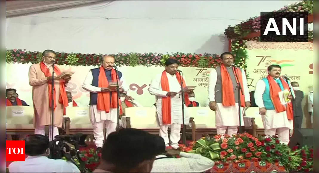 Gujarat New Cabinet Ministers: 24 new ministers take oath | Ahmedabad News – Times of India